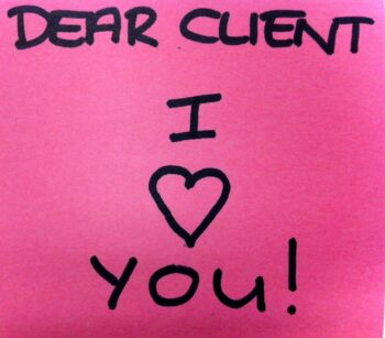 Become a great client at London Valentines