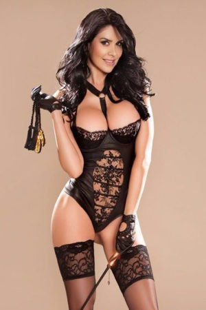 Busty Brazilian escort Latoya is a high end London callgirl.